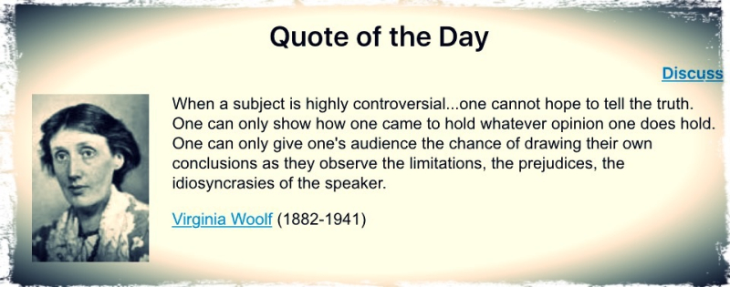 Woolf Words