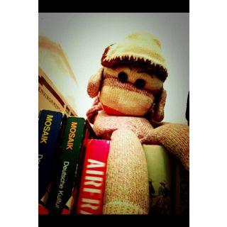Small bookish primate